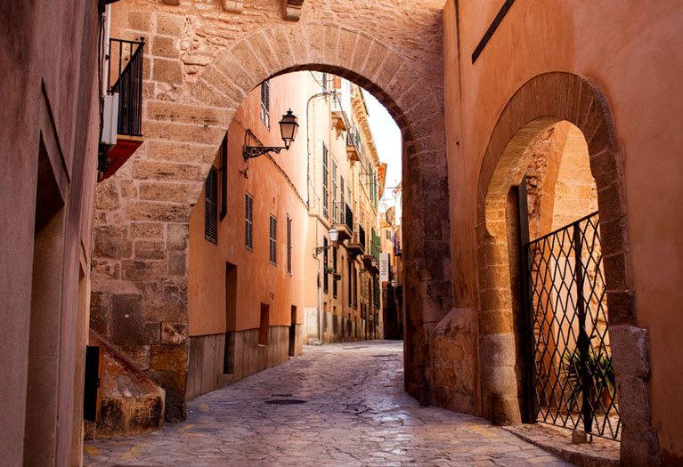 A day trip to Palma, visit the Cathedral La Seu, Palace of Almundaina, La Lonja, Arab Baths and the famous Churches all in one day